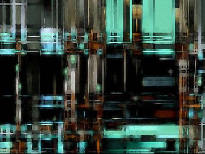 Digital Art - Matrix 4 by David Hansen