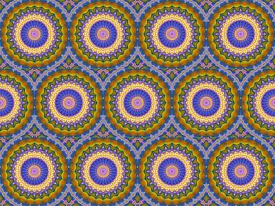 Digital Art - Matrix Pattern Design 003 A by Larry Capra
