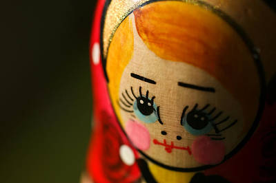 Matryoshka Photograph - Matryoshka Doll by Edward Myers