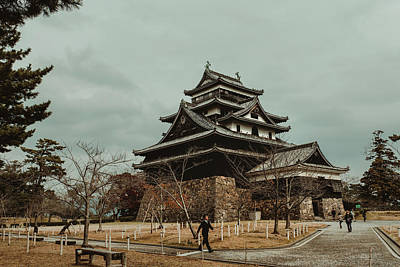 Photograph - Matsue Castle by Valerie Rosen