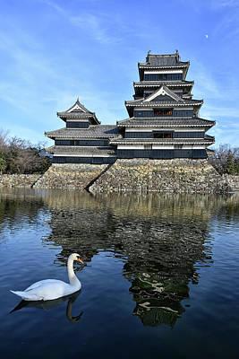 Matsumoto Swan Art Print