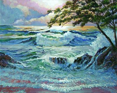 Matsushima Coast Original by David Lloyd Glover