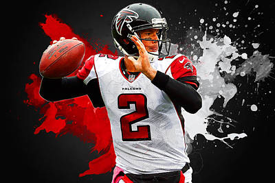 Matt Ryan Art Print by Semih Yurdabak