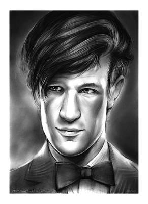 Fantasies Drawing - Matt Smith by Greg Joens