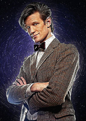 Communion Digital Art - Matt Smith by Semih Yurdabak