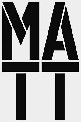 Dot Painting - Matt by Three Dots