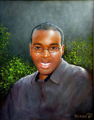 African Gray Painting - Matt by Ulysses Albert III
