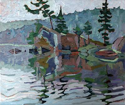 Conservationist Painting - Mattawa Pines by Phil Chadwick