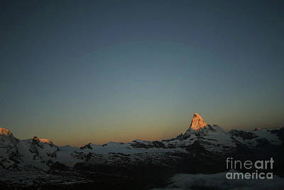 Photograph - Matterhorn At Sunrise by Christine Amstutz