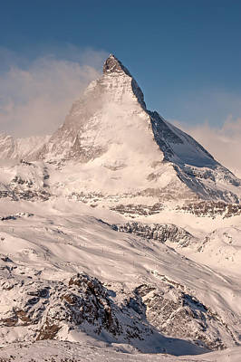 Photograph - Matterhorn Cervino by Brenda Jacobs