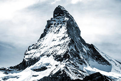 Mountain Mixed Media - Matterhorn by Design Turnpike
