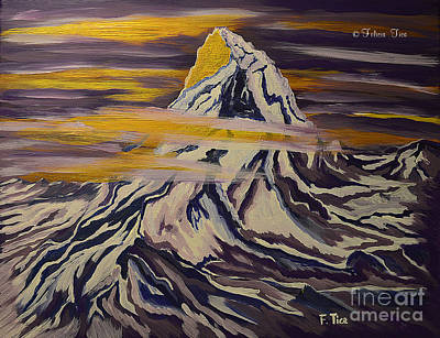 Painting - Matterhorn Dream by Felicia Tica