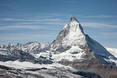 Matterhorn Art Print by Marty Garland