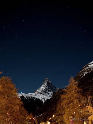 Photograph - Matterhorn Skyscape by Mark Dahmke