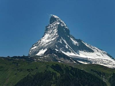Photograph - Matterhorn, Switzerland by Samuel Pye