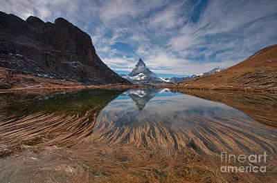 Matterhorn Zermatt Art Print by Caroline Pirskanen