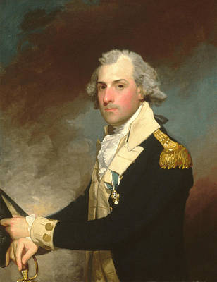 Painting - Matthew Clarkson by Gilbert Stuart