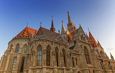 Photograph - Matthias Church, Budapest, Hungary by Elenarts - Elena Duvernay photo