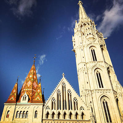 Architecture Photograph - Matthias Church In Budapest Hungary by Matthias Hauser