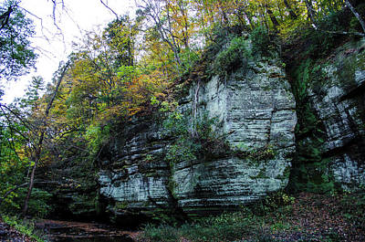 Photograph - Matthiessen State Park Lower Dells Canyon Oglesby Illinois by Deborah Smolinske