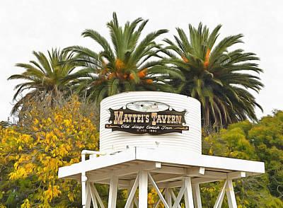 Photograph - Matties Tavern Los Olivos California by Floyd Snyder