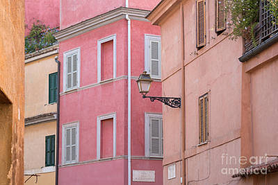 Trastevere Photograph - Mattonato by Richard Thomas