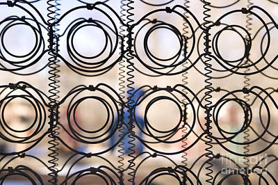 Photograph - Mattress Coils by Mark Harmel