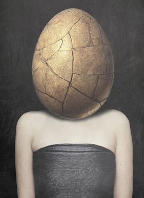 Surrealism Digital Art - Maturing by Jacky Gerritsen