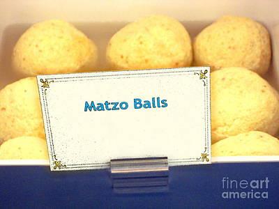 Matzo Balls Art Print