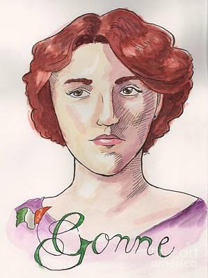 Maud Gonne Art Print