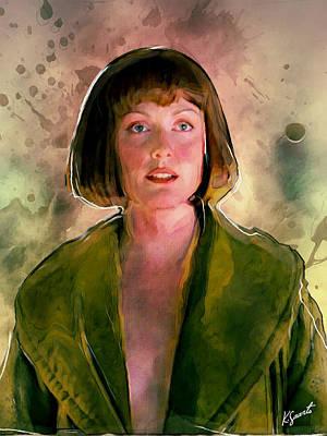 Digital Art - Maude From Big Lebowski by Kai Saarto
