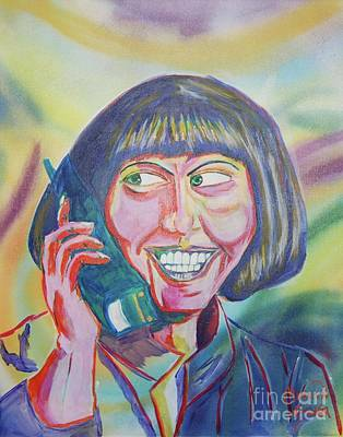 Maude Lebowski Art Print by Kevin King