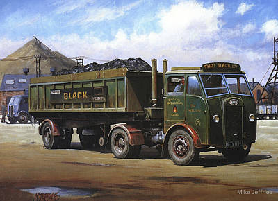 Maudslay Coal Lorry. Original