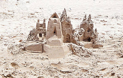 Photograph - Maui Beach Sand Castle by Robert Meyers-Lussier