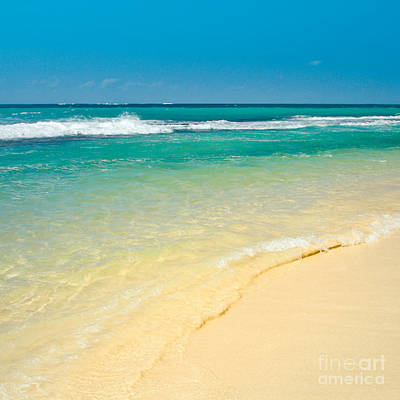 Photograph - Maui Beaches Into The Blue by Sharon Mau