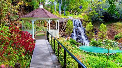 Rucker Photograph - Maui Botanical Garden by Michael Rucker