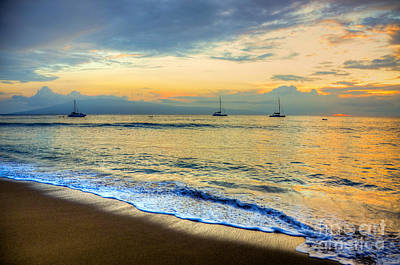Photograph - Maui Evening by Kelly Wade
