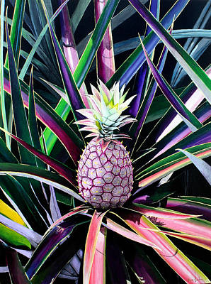 Painting - Maui Gold Pineapple by Pierre Leclerc Photography
