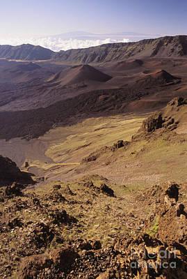 Maui, Haleakala Crater Art Print by Mary Van de Ven - Printscapes