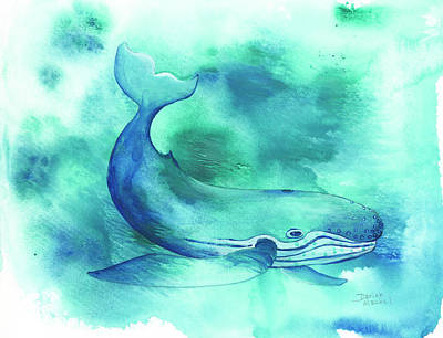 Painting - Maui Humpback by Darice Machel McGuire