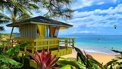 Rucker Photograph - Maui Kamaole Beach by Michael Rucker