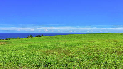 Photograph - Maui Land Sea Sky by Frank DiMarco