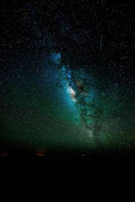 Photograph - Maui Milky Way by Chris Featherstone