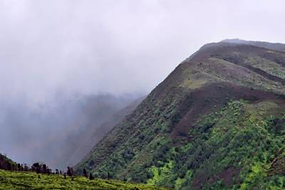 Photograph - Maui Mountain Mists by Kirsten Giving