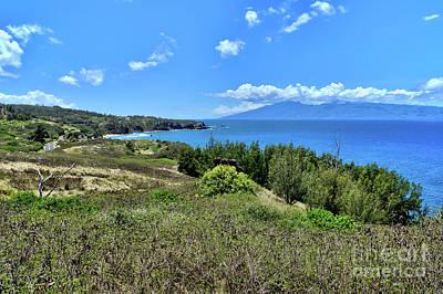 Photograph - Maui North Coastline by Eddie Yerkish