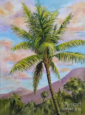 Maui Palm Art Print
