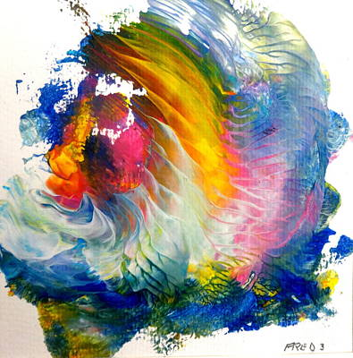 Painting - Maui Rainbow by Fred Wilson