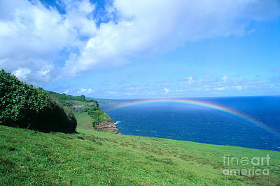 Photograph - Maui, Rainbow by Peter French - Printscapes