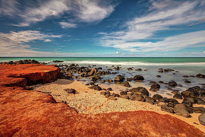 Photograph - Maui Red Dirt At Baby Beach by Pierre Leclerc Photography