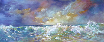 Painting - Maui Riptide by Rae Andrews